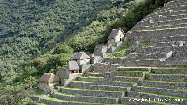 tarasy Machu Picchu
