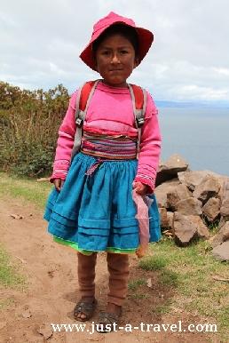 12. Dziewczynka z Taquile