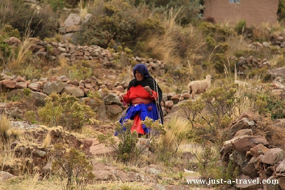 3. Taquile babcia