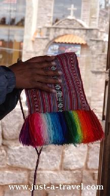 torebka z taquile