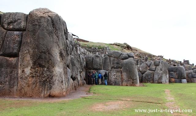 Olbrzymi Głaz z Sacsayhuamán