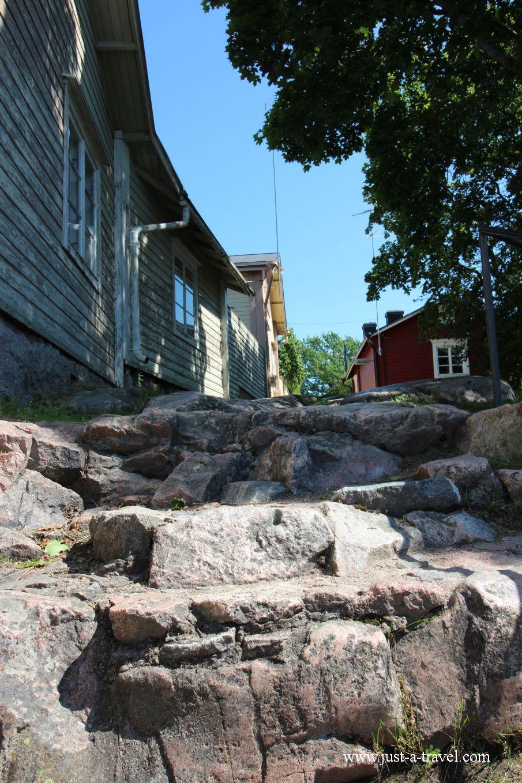 Diabelskie schody - Magiczne miasteczko Porvoo
