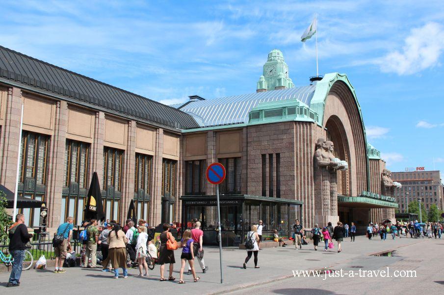 Dworzec Glowny - Helsinki i Muminki