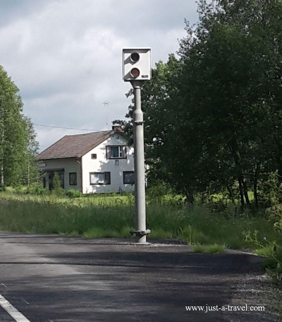 Fotoradar w drodze do Kuopio - W drodze do Świętego Mikołaja