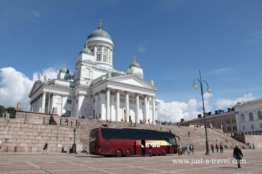 Helsinki atrakcje Katedra