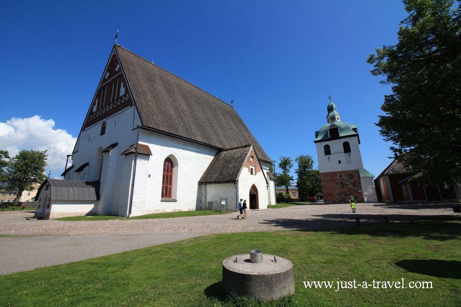 Katerdra z Porvoo - Magiczne miasteczko Porvoo