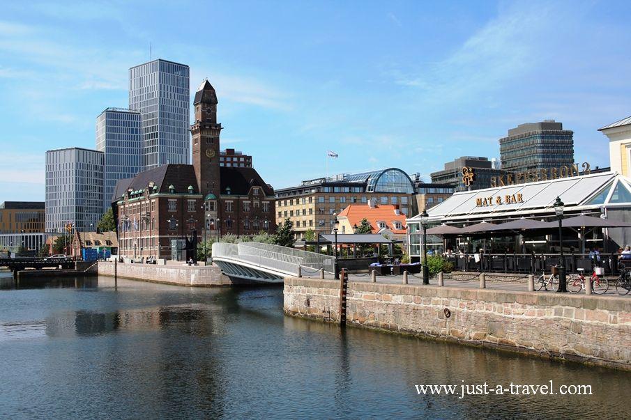 Malmö wodne miasto - Podróż dookoła Skandynawii - wskazówki praktyczne