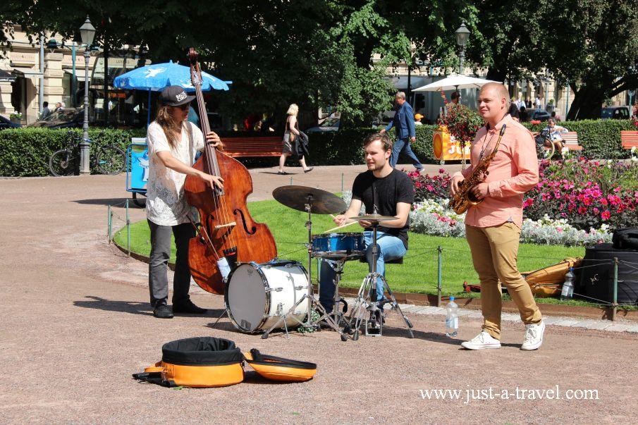 Muzykanci - Helsinki i Muminki