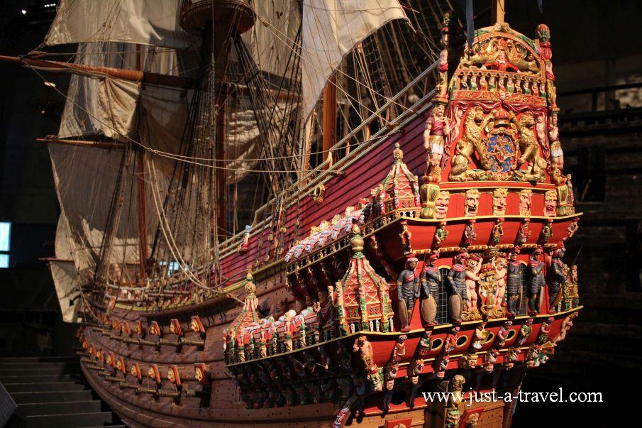Okret Vasa duplikat - Weekend w Sztokholmie