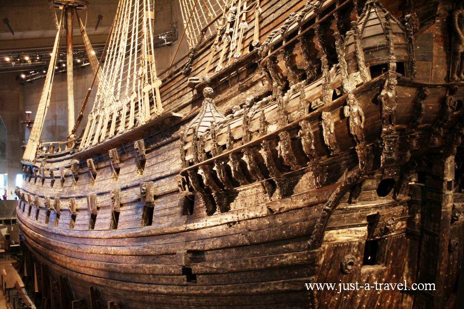 Okret Vasa - Weekend w Sztokholmie