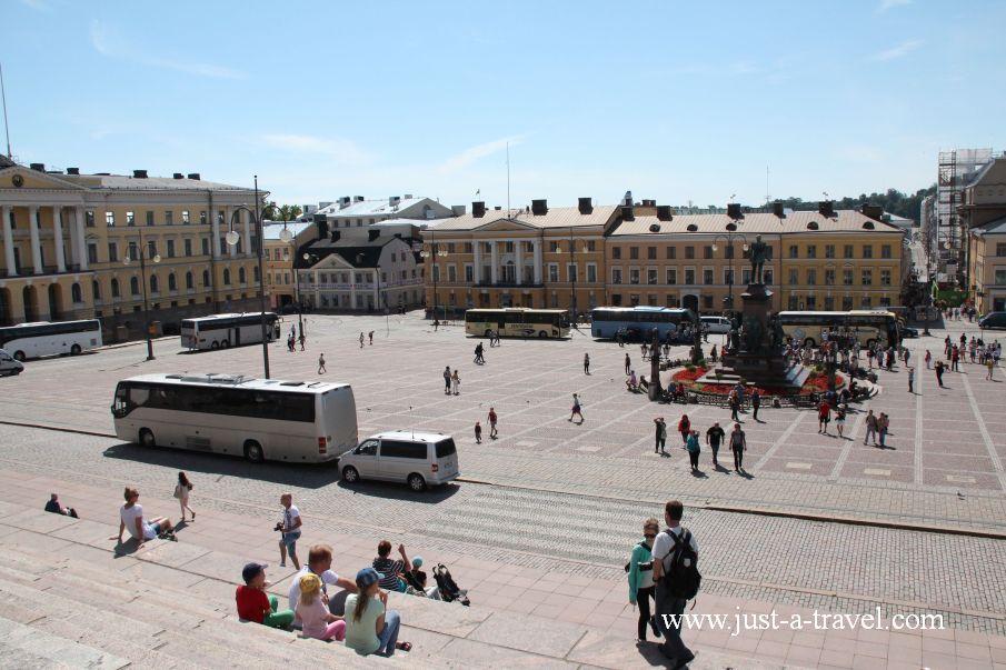 Plac Senacki w Helsinkach - Helsinki i Muminki
