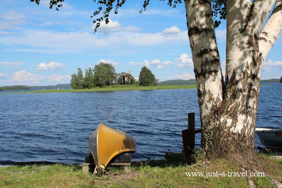 Pojezierze w Kuopio - W drodze do Świętego Mikołaja