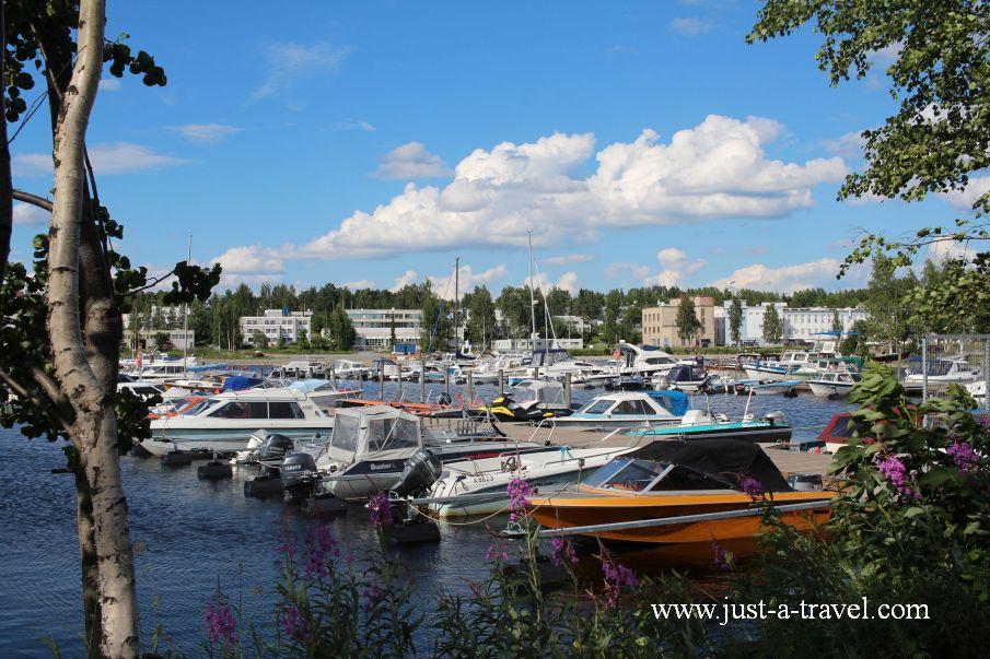 Port w Kuopio - W drodze do Świętego Mikołaja