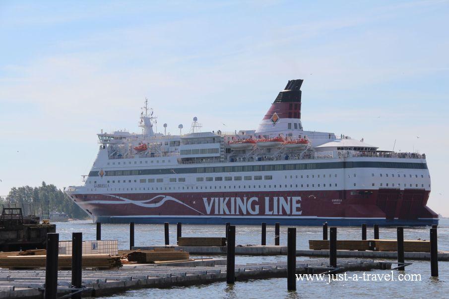 Prom Viking Line - Helsinki i Muminki