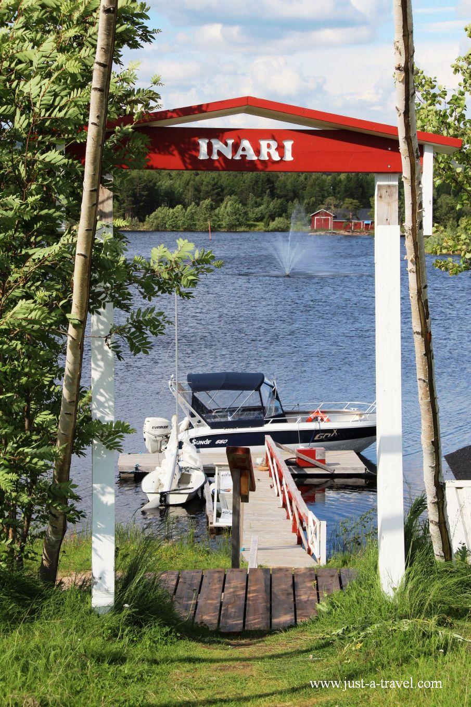 Przystan Inarii - Inari i komary