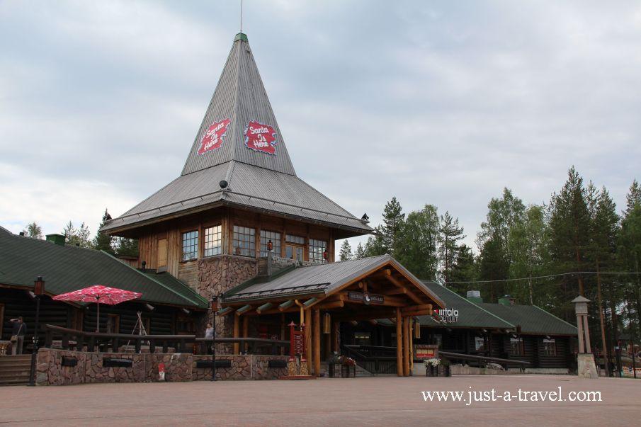 Siedziba Swietego Mikolaja - W wiosce Świętego Mikołaja