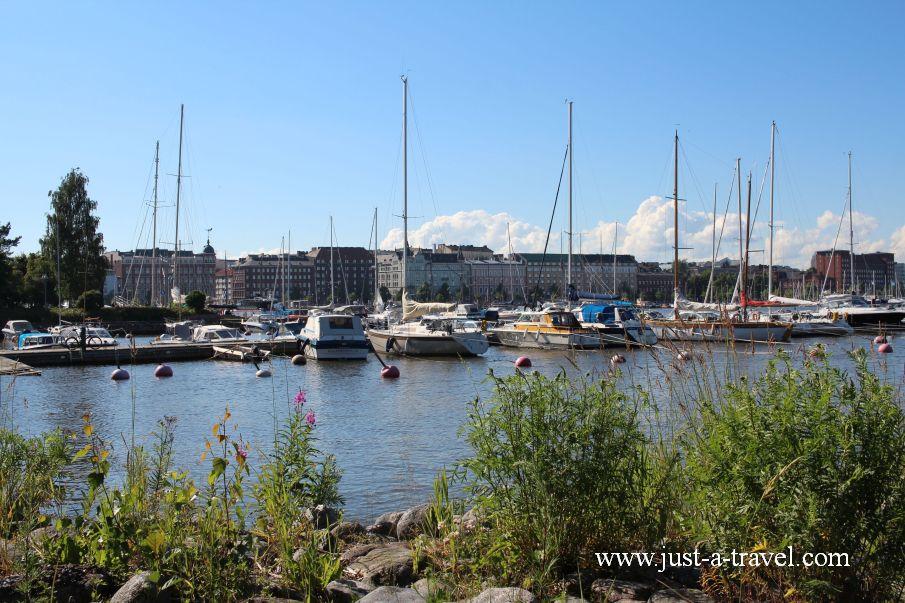 Spacer po dzielnicy Katajanokka - Helsinki i Muminki