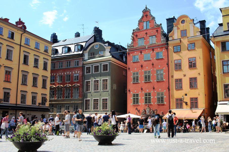 Sztokholm Stortorg - Weekend w Sztokholmie