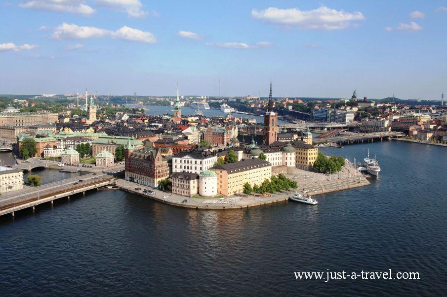 Sztokholm z lotu ptaka - Weekend w Sztokholmie