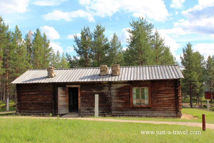 Tak mieszkali dawni mieszkańcy Laponii - Inari i komary