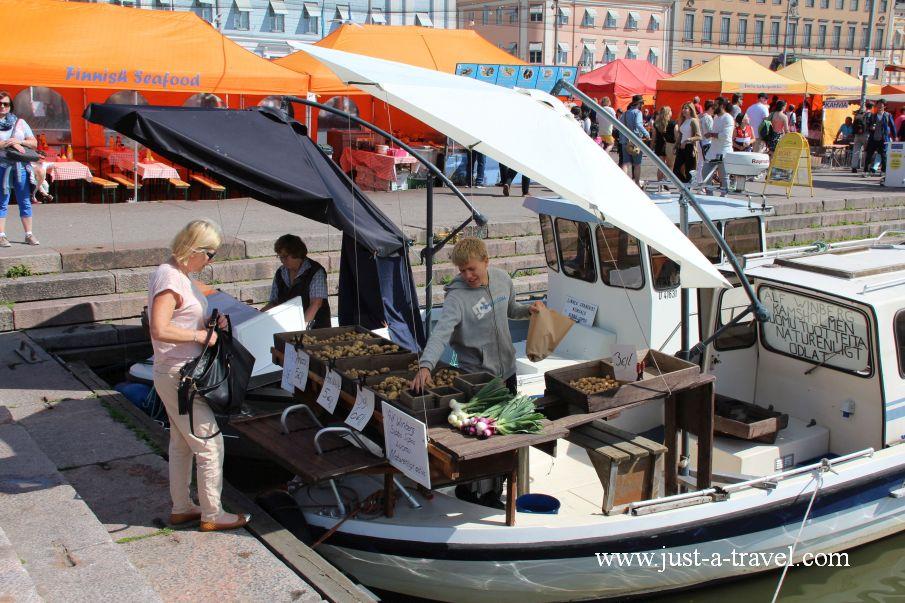 Targowisko miejskie - Helsinki i Muminki