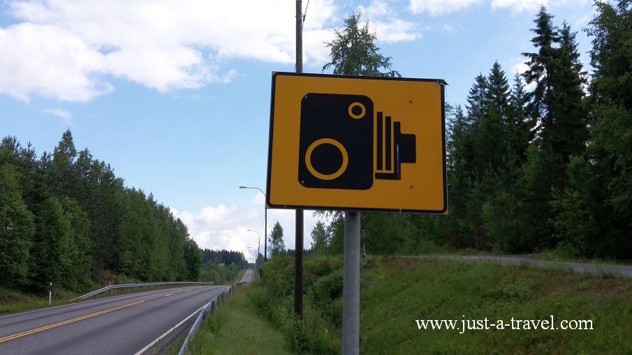 Uwaga fotoradar - Podróż dookoła Skandynawii - wskazówki praktyczne