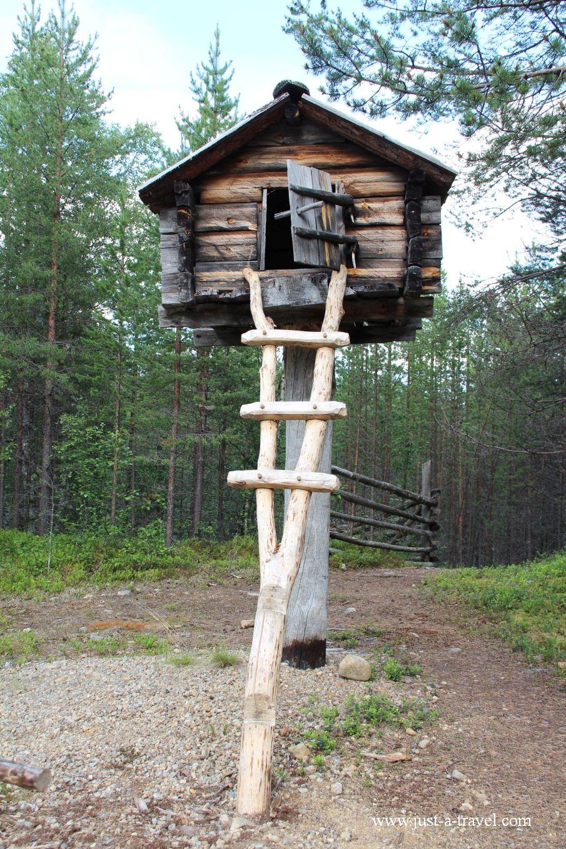 W skansenie Siida - Inari i komary