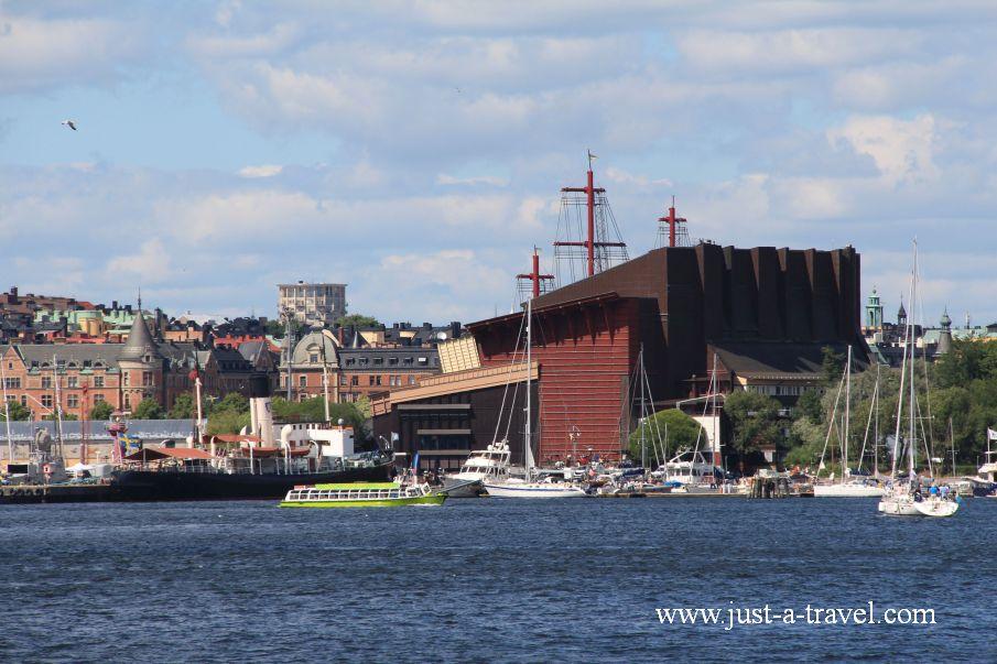 Widok na Muzeum Vasa - Weekend w Sztokholmie