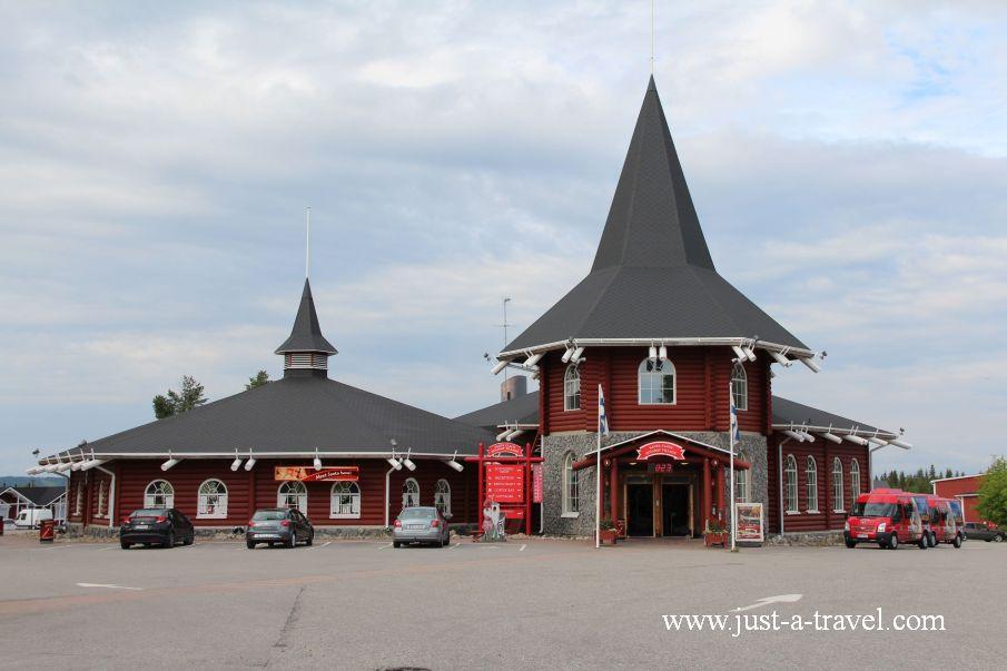 Wioska Swietego Mikolaja - W wiosce Świętego Mikołaja