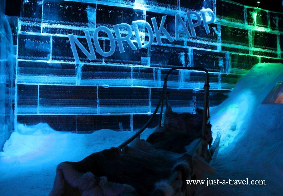 Artico Ice bar 2 - Honningsvag czyli kierunek Przylądek Północny Nordkapp
