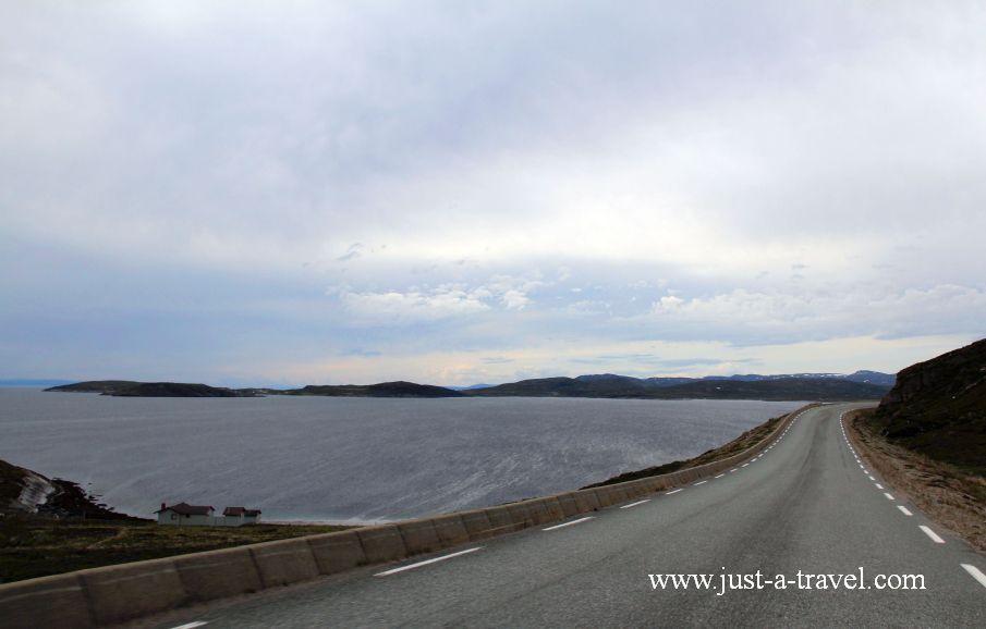 Droga na kraniec swiata 1 - Honningsvag czyli kierunek Przylądek Północny Nordkapp