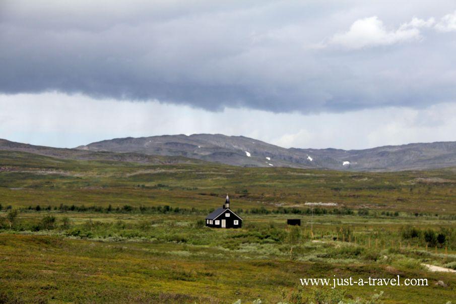 Kosciol na krancu swiata 1 - Honningsvag czyli kierunek Przylądek Północny Nordkapp