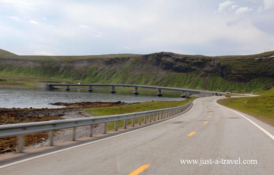 Mosty - Honningsvag czyli kierunek Przylądek Północny Nordkapp