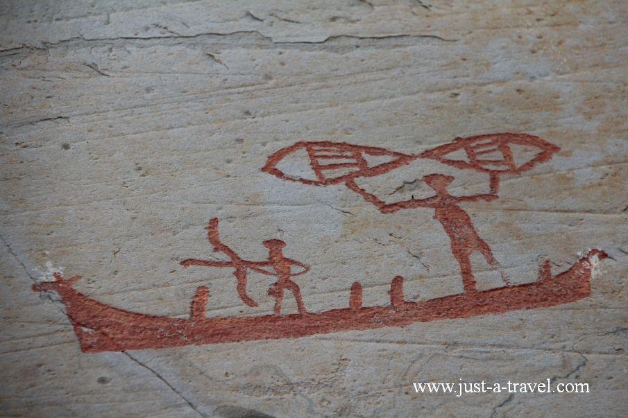 Rysunki naskalne w Alta 3 - Alta i rysunki naskalne naszych przodków
