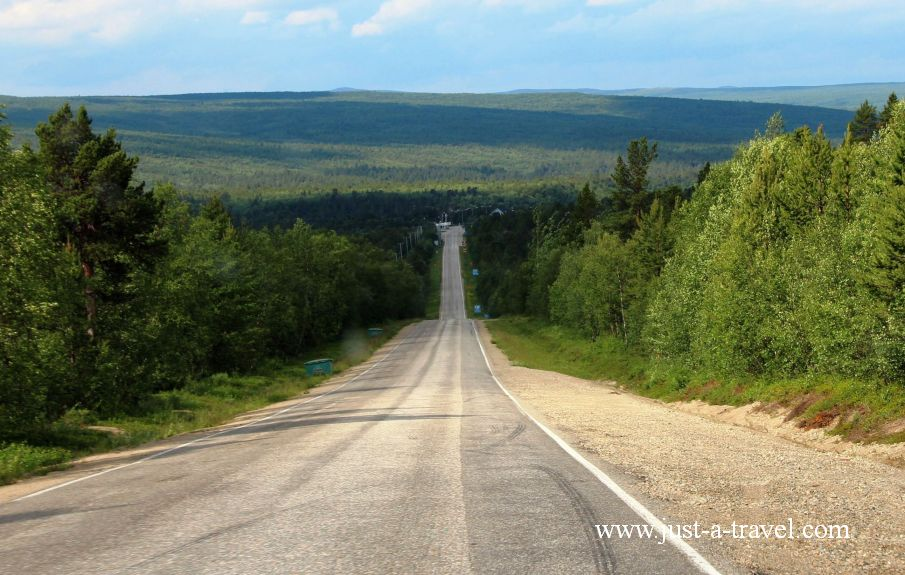 W drodze do Honningsvag - Honningsvag czyli kierunek Przylądek Północny Nordkapp