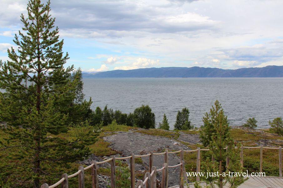 Widok na zatoke w Alta - Alta i rysunki naskalne naszych przodków