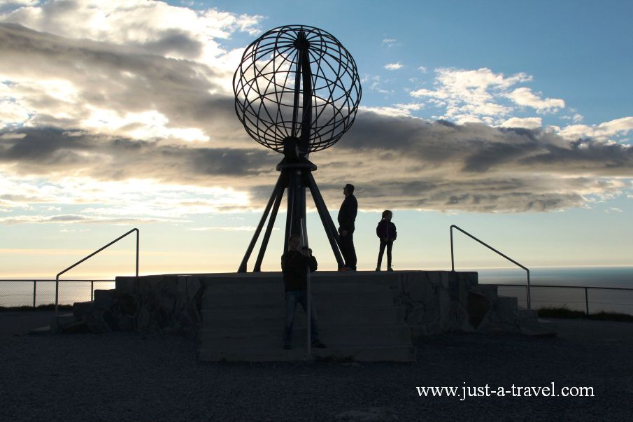 nordkapp 5 - Dzień polarny na Przylądku Północnym Nordkapp