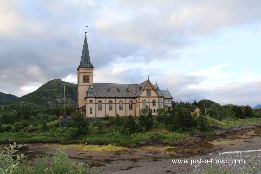 Katedra Lofocka - Lofoty - perły północnej Norwegii