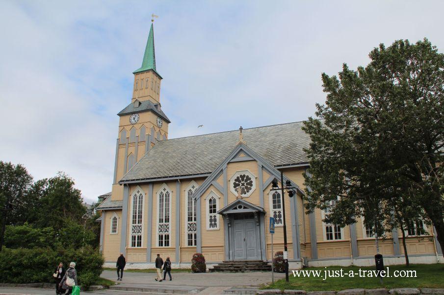 Katedra Tromso - W arktycznej scenerii Tromso