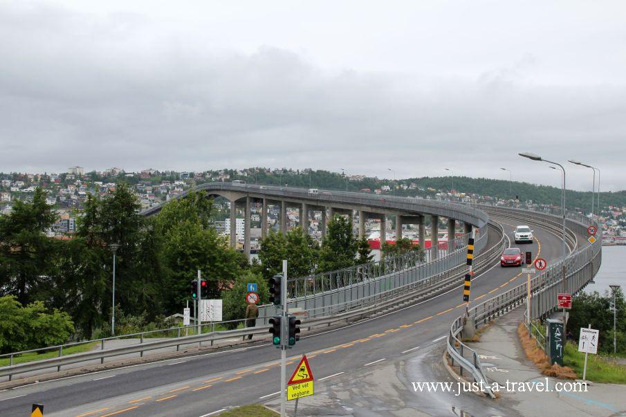 Most Tromso 2 - W arktycznej scenerii Tromso