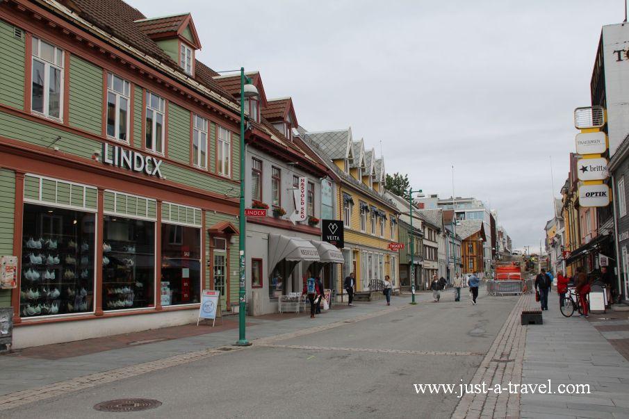 Storgata 2 - W arktycznej scenerii Tromso