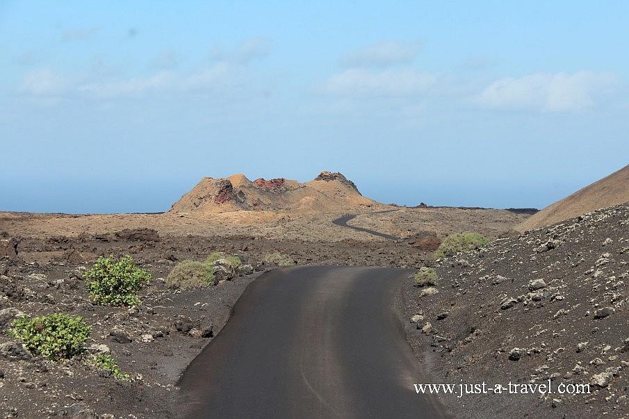 Ruta de los vulcanos Lanzarote