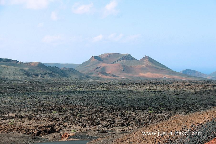 Ruta de los vulcanos na Lanzarote