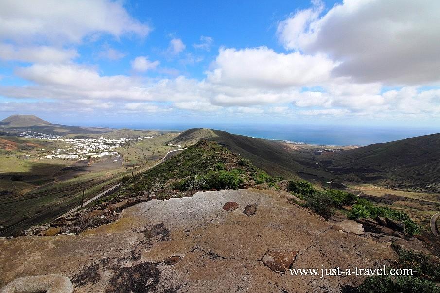 Lanzarote wschodnia część wyspy