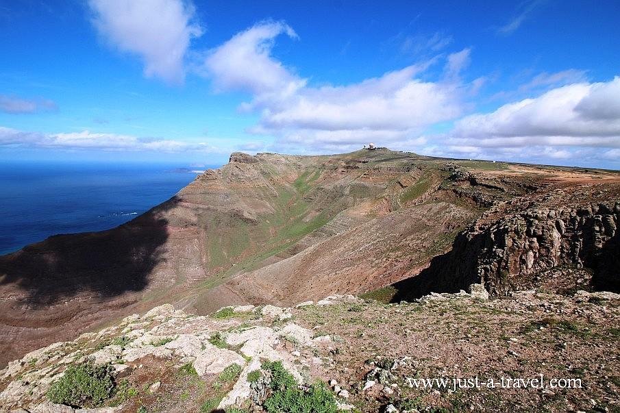 Lanzarote zachodnia część wyspy