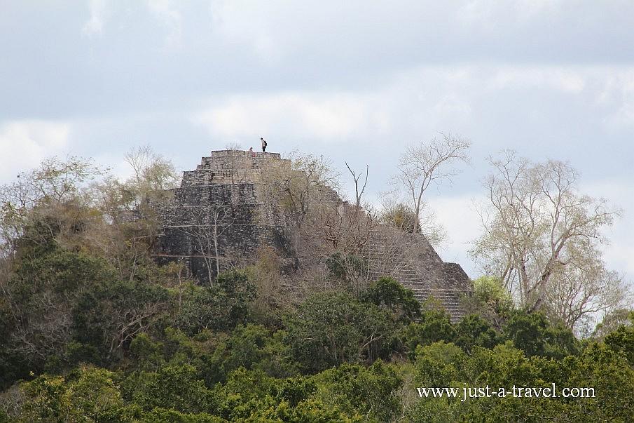 Piramidy Calakmul