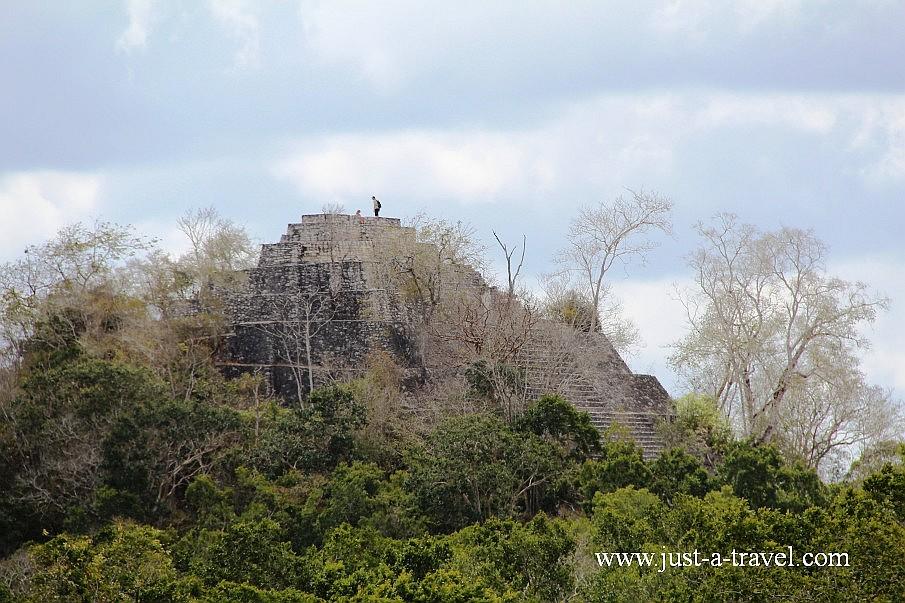 Ruiny Calakmul