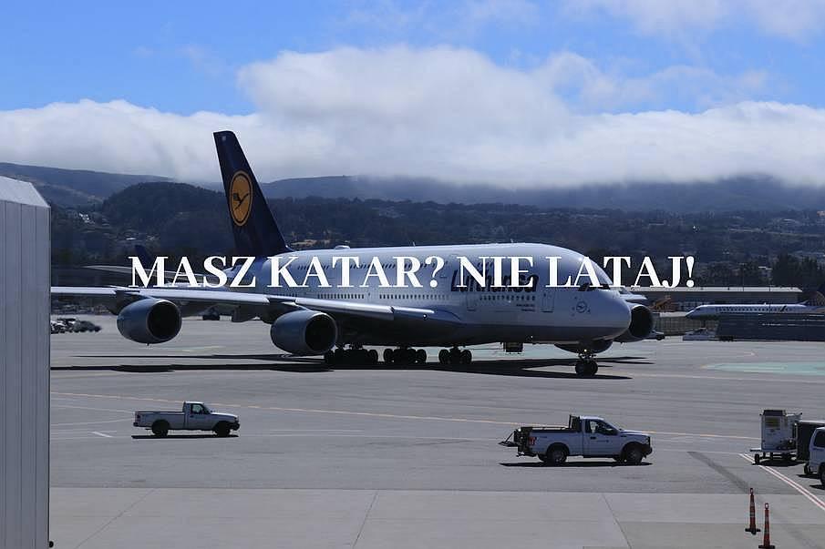 Samolot Lufthansa