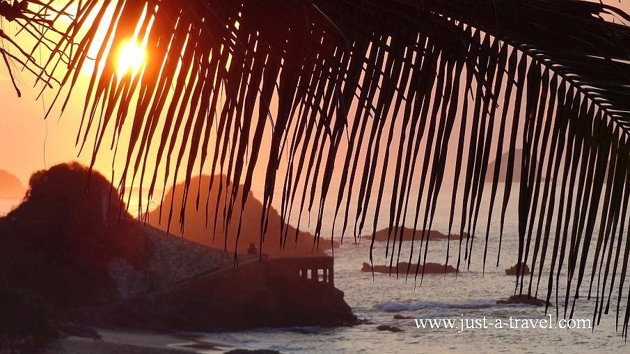 Wschód słońca w Mazunte
