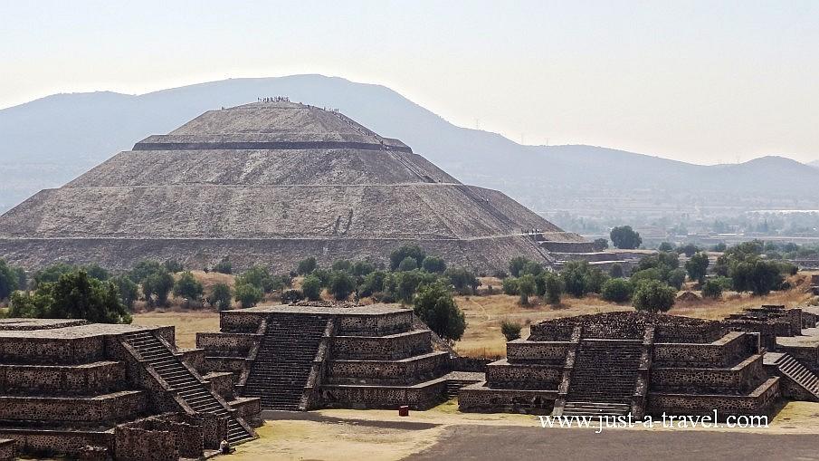 Teotihuacan i Piramida Slonca